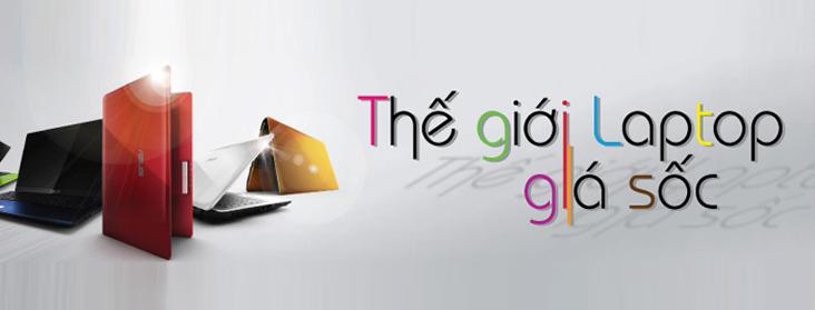 Thế giới laptop giá sốc