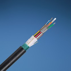 AMP 1-1427452-4 Fiber Optic Cable, Outside Plant, 12-Fiber, OS2, Dielectric Jacket