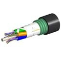 AMP 1-1427432-4 Fiber Optic Cable, Outside Plant, 6-Fiber, OS2, Armored Jacket