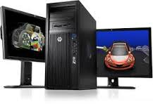 HP Z420 Workstation Intel Xeon E5-1620v2 - LJ449AV Quadro K600 1GB Graphics