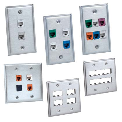 OUTLETS, FACEPLATES & ACCESSORIES