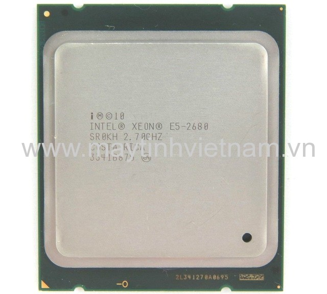 CPU Intel Xeon E5 2680 2.80Ghz-20Mb (Tray) (Up to 3.50Ghz/ 20Mb cache) Sandy Bridge