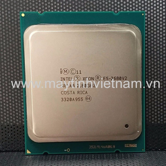 CPU Intel Xeon E5 2680 V2 2.80Ghz-25Mb (Tray) (Up to 3.60Ghz/ 25Mb cache) Ivy Bridge