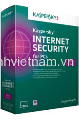 Phần mềm diệt virus Kaspersky Internet security(1PC/12T)