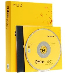 Office MAC Home Business 1PK 2011 DVD