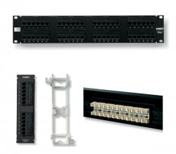 AMP 1933319-2 XG Category 6A Patch Panel, Unshielded, 24-Port, SL