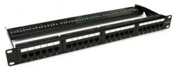 AMP 1933307-1 Multimedia SL Series Patch Panel 24-port