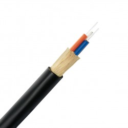 AMP 1-1427449-4 Fiber Optic Cable, Outside Plant, 4-Fiber, OS2, Dielectric Jacket